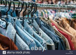 Vintage Jackets Men & Women Bundle X 30 -leather, Jean, Levi, Armani, North Face