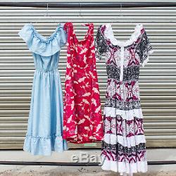 Vintage Ladies Dress Bundle Mix Occasion Seasonal Party Wholesale Job Lot X 40