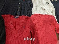 Vintage Mens/Womens Mix Ralph Lauren Jumper Bundle Multiple Sizes and Styles X10