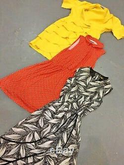 Vintage Wholesale Lot Ladies Dress Bundle x 50