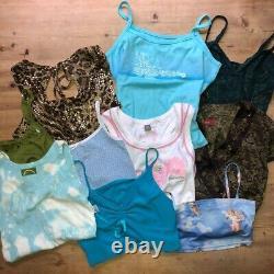 Vintage Y2k 00s Womens Clothing Bundle Job Lot Wholesale 90s