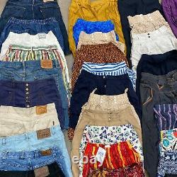 Vintage shorts bundle wholesale joblot