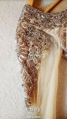 Wedding dress, Asain, Red, Bridal in size 8-10 UK. ONLY WORN ONCE