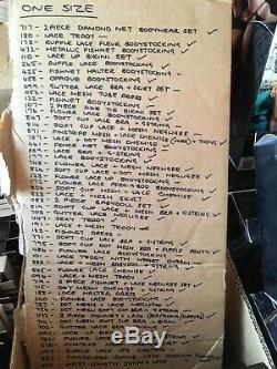 Wholesale Bulk Huge bundle Job lot Baci underwear lingerie New Boxed RRP £972