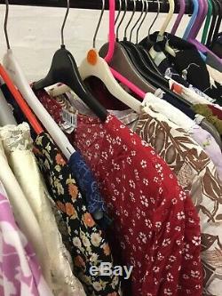 Wholesale Job Lot 10 x Vintage Dress Bundle Mixed Brands & Sizes