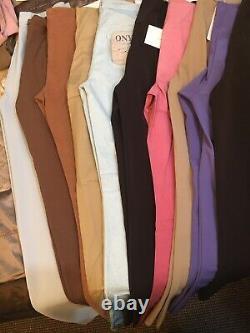 Wholesale Joblot Womens Trousers X 20 High Street Italian Designers BNWT Bundle
