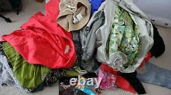 Women Clothes & Shoes Bundle /Bulk /Job Lot More Than 200 Items of Known Brands