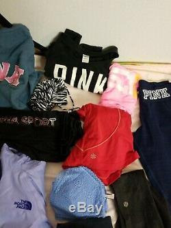 Women's Bundle Lot of 27 PCS Clothing Wholesale Sizes XS, S USED FREE SHIPPING