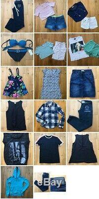 Womens Bundle Lot Ladies Clothes Size 6/ 8 M&S, Top Shop, H&M, Bench, o'Neill