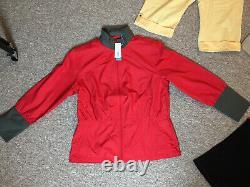 Womens Callaway Golf Clothes Wort £190 Bundle /job Lot. All Vgc+new Jacket+tag