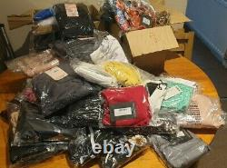 Womens Clothing Job Lot Wholesale Mixed Sizes and Top Brands Bundle 100 Pieces