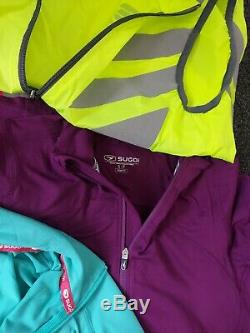 Womens Cycling Clothes Bundle Size Medium 12 Approx 15 items New Without Tags