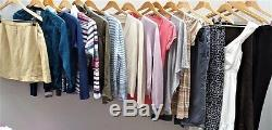 Womens / Ladies Job Lot Used'Cream' Clothing Mixed Box Bundle Re-Sale Graded