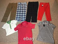Womens Nike Golf Clothes £300 Worth In This Bundle / Job Lot +++ No Reserve