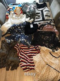 Womens / Teens Job Lot Bundle Clothes c210 Items Sizes 4, 6, 8 10 Good Condition