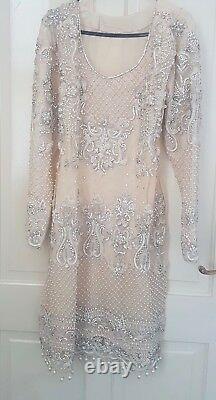 Womens white nikah, eid, wedding, bridal salwarkameez Pakistani/Indian clothes