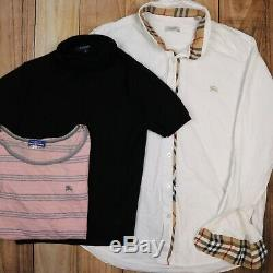 X19 WHOLESALE JOBLOT Burberry Tops Bundle T-Shirts, Shirts and Sweaters