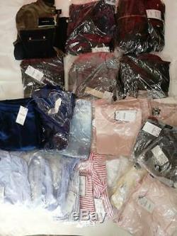 ZARA Clothes Bundle Job Lot 120 pcs Women Mens BNWT